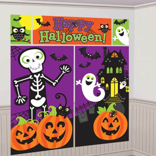Happy Halloween Wall Decorating Kit - Pack of 5 Product Image