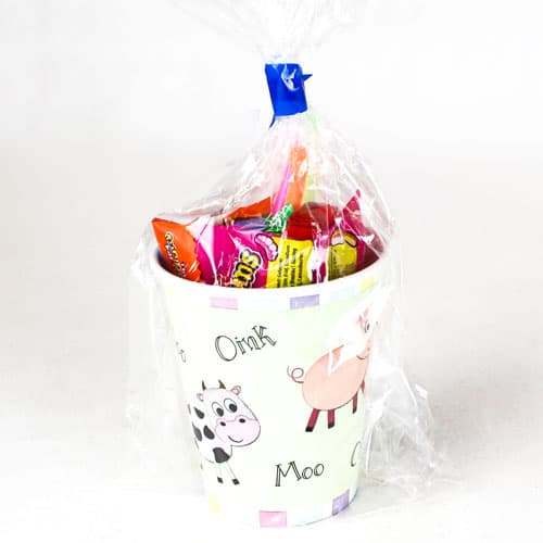Farm Animals Value Candy Cup