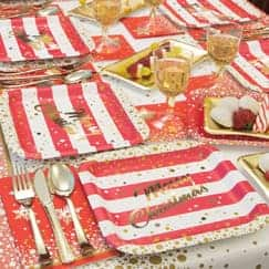 Gold Sparkle Christmas Party Supplies Category Image