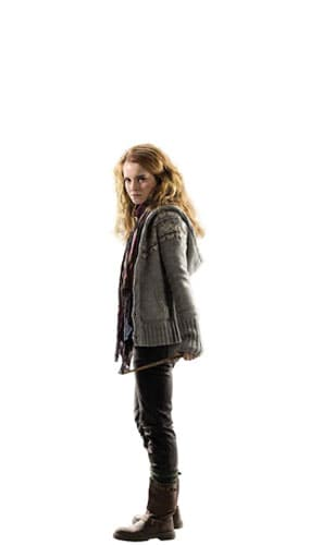 Harry Potter Hermione Granger Mini Cardboard Cutout 92cm Product Gallery Image