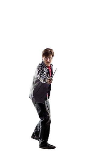 Harry Potter Mini Cardboard Cutout 92cm Product Gallery Image