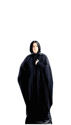 Harry Potter Professor Snape Mini Cardboard Cutout 91cm Product Gallery Image