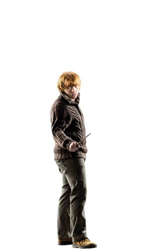 Harry Potter Ron Weasley Mini Cardboard Cutout 92cm Product Gallery Image
