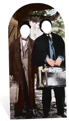 Laurel and Hardy Lifesize Cardboard Cutout Stand In 192cm Product Gallery Image