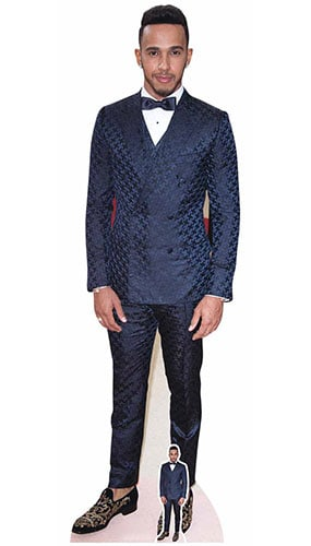 Lewis Hamilton Red Carpet Lifesize Cardboard Cutout 174cm Product Gallery Image