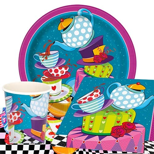 Mad Hatter Tea Party Supplies Decorations Partyrama
