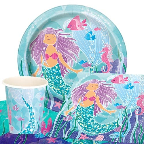 Mermaid 8 Person Value Party Pack