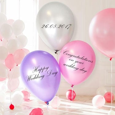 Personalised Latex Balloons