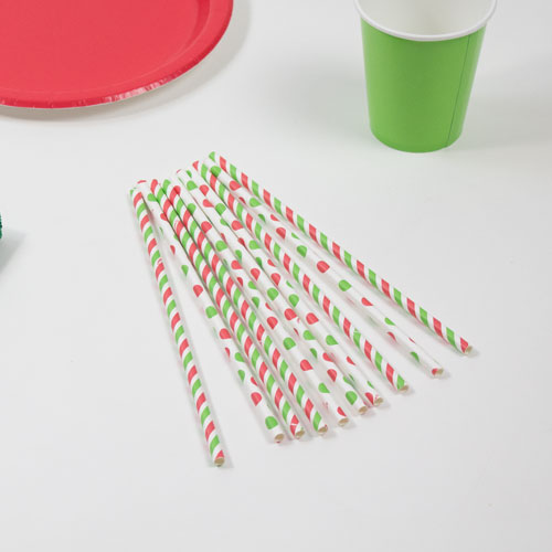 red-and-green-dots-paper-drinking-straws-pack-of-10