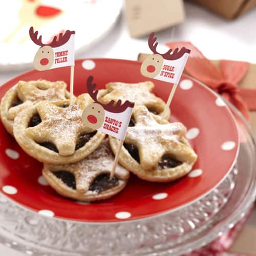 Christmas Rocking Rudolf Mince Pie Sticks - Pack of 20