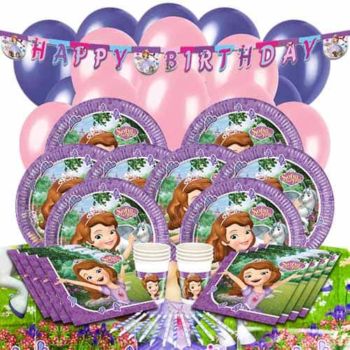 Disney Sofia The First 16 Person Deluxe Party Pack  sc 1 st  Partyrama & Disney Sofia The First Paper Plate 23cm   Partyrama
