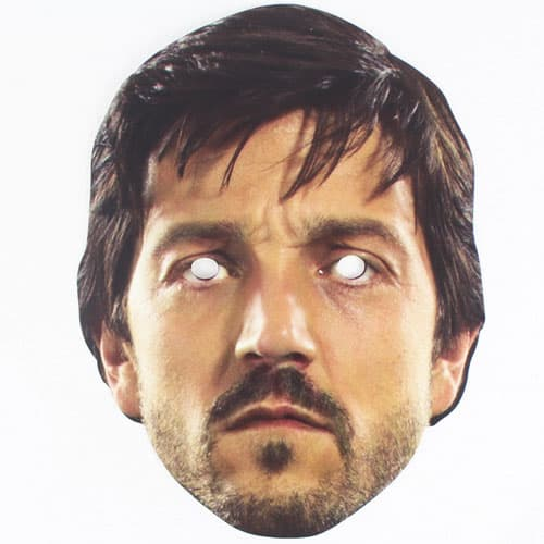 Star Wars Rogue One Cassian Cardboard Face Mask Product Image