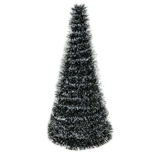 Tinsel Christmas Tree with Snow Tips 49cm