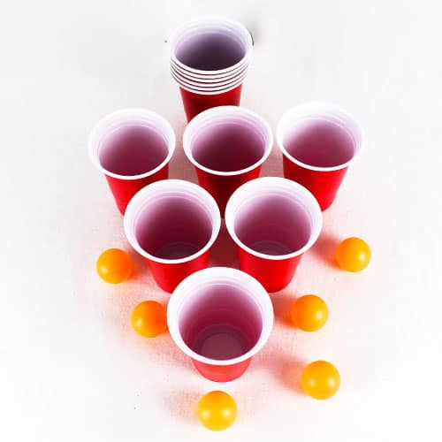 Beer Pong Set - Pack of 18