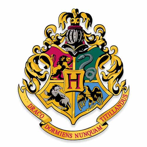 Harry Potter Wizarding World Hogwarts Crest Wall Art Cutout 61cm Product Gallery Image