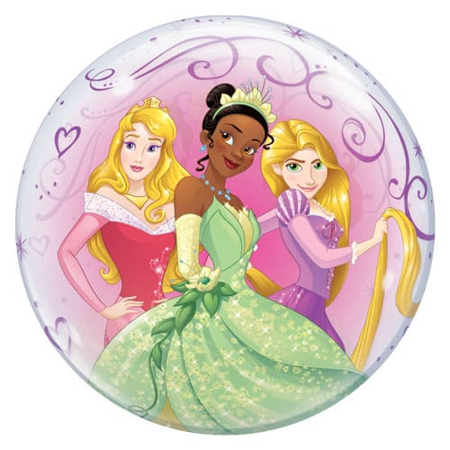 Disney Princesses Bubble Helium Qualatex Balloon 56cm / 22Inch Product Gallery Image