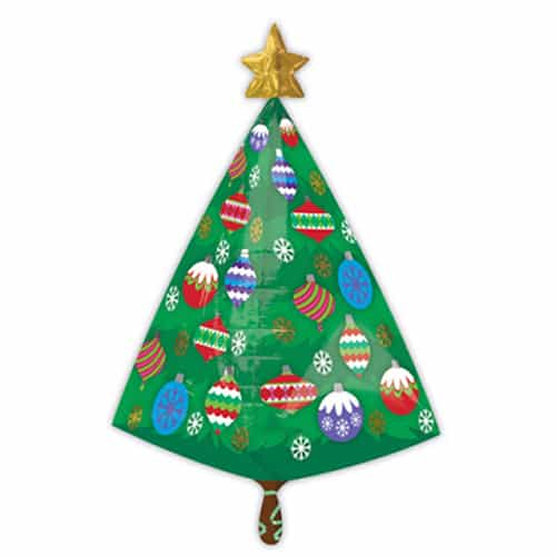 christmas-tree-with-star-supershape-foil-ballloon-product-image