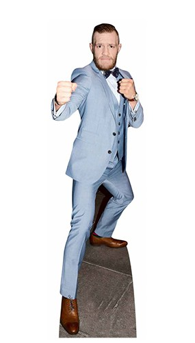 Conor McGregor Fighting Champion Lifesize Cardboard Cutout 180cm Product Gallery Image