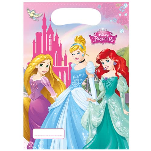 Disney Princess Loot Bags - Pack of 6