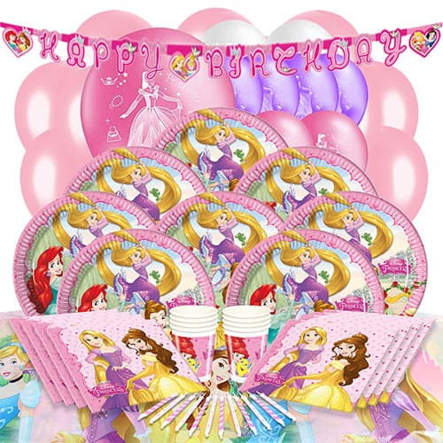 Disney Princess 16 Person Deluxe Party Pack