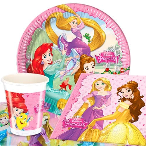 Disney Princess 8 Person Value Party Pack