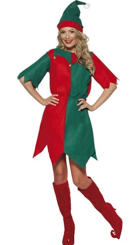 6807ba7a548 Green Christmas Tree Adult Fancy Dress Costume - One Size