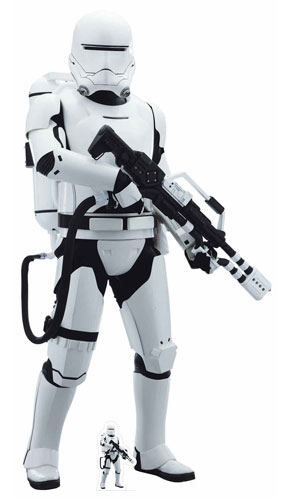 Star Wars The Last Jedi Flametrooper Lifesize Cardboard Cutout 180cm Product Gallery Image