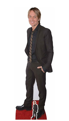 Keith Urban Red Carpet Lifesize Cardboard Cutout 178cm Product Gallery Image