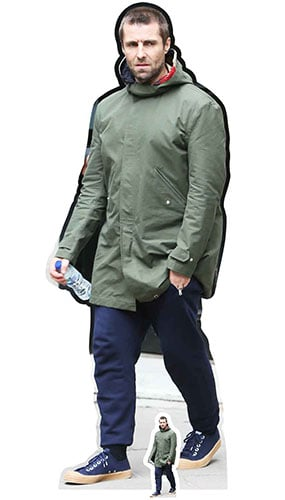 Liam Gallagher Lifesize Cardboard Cutout 178cm Product Gallery Image