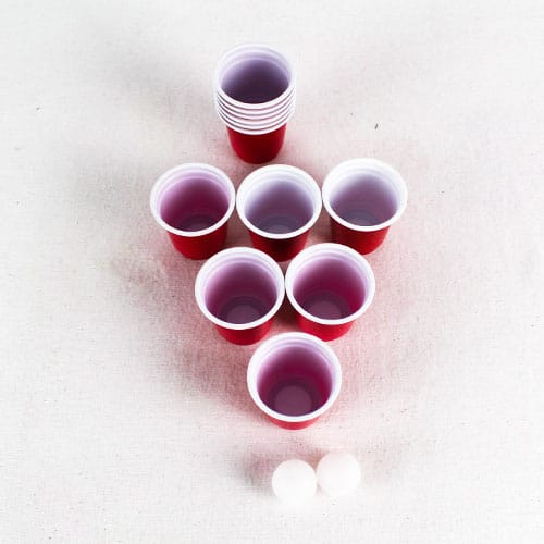 Mini Beer Pong Set - Pack of 14