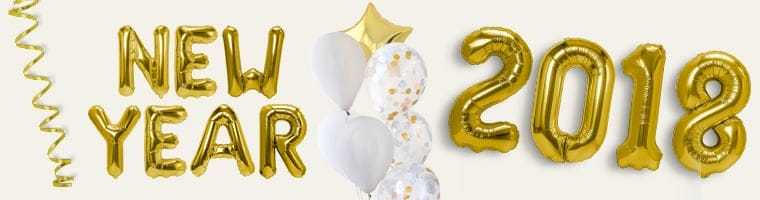Letters, Numbers and Phrase Balloons Category Image