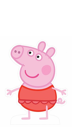 Peppa Pig Swimsuit Lifesize Cardboard Cutout 90cm Product Gallery Image