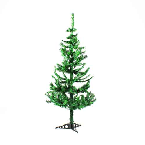 PVC Christmas Tree with Plastic Base 150cm