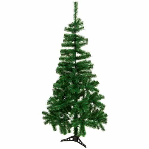 Christmas Tree with Plastic Base 150cm