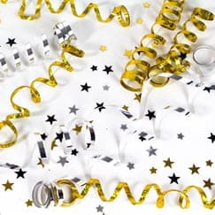 New Years–serpentines & Streamers