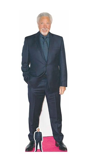 Tom Jones Red Carpet Lifesize Cardboard Cutout 177cm Product Gallery Image