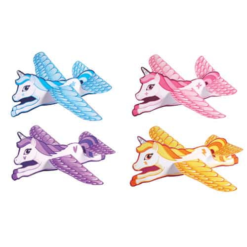 Assorted Unicorn Glider 18cm Product Image