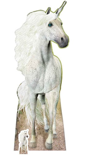 Unicorn Lifesize Cardboard Cutout 185cm Product Gallery Image