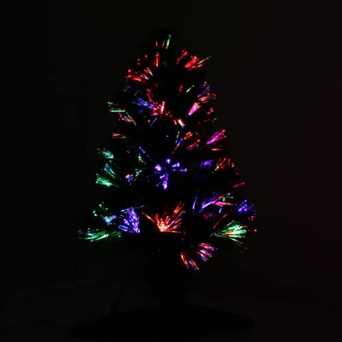 Multi-Coloured Fibre Optic Christmas Tree 60cm Product Gallery Image