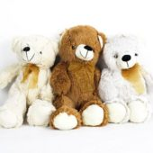 Assorted Standing Teddy Bear Cuddly Soft Toy 38cm