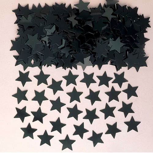 Black Stars Table Confetti 14 Grams Product Image