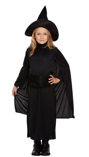 Classic Witch Costume 7 - 9 Years Childrens Fancy Dress - Medium