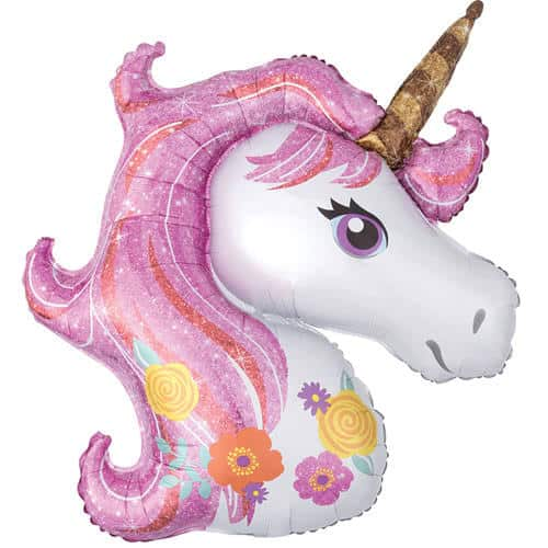 Magical Unicorn Helium Foil Giant Balloon 83cm / 33 in