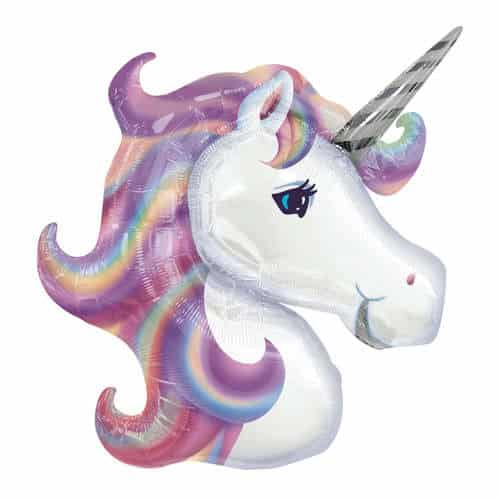 Pastel Unicorn Helium Foil Giant Balloon 84cm / 32 in