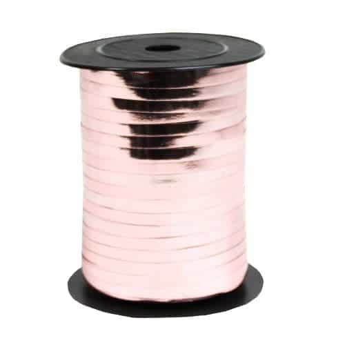 Rose Gold Metallic Curling Ribbon 250yds / 228m