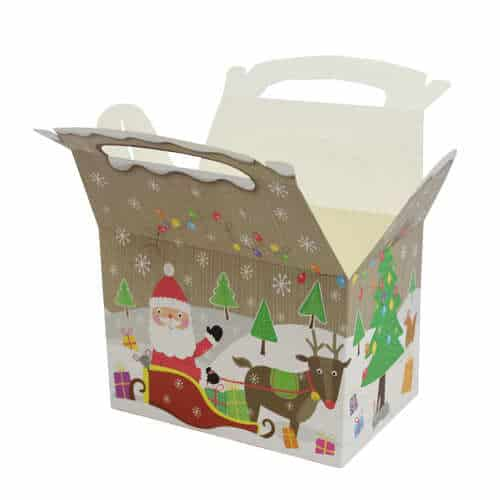 Santa Christmas Party Box Product Gallery Image