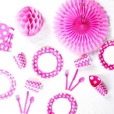 Pink Decorative Dots