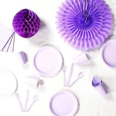 Lilac Party Supplies