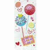 Sweet Valentine Cello Bags with Twist Ties – Pack of 20