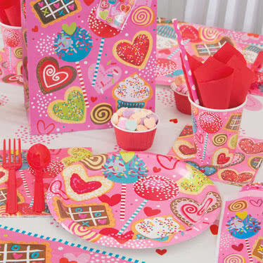 Sweet Valentine Party Supplies